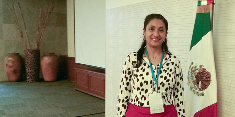 Beyruth Zúñiga Santamaría, fundadora de la ONG mexicana `Janikua´