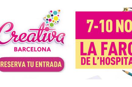 Creativa Barcelona, del 7 al 10 de noviembre de 2019