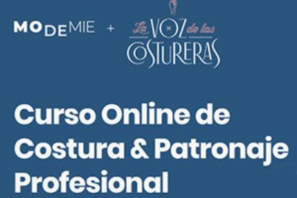 Colaboración: Modemié + La Voz de las Costureras, cursos de costura online dinámicos para todos los niveles