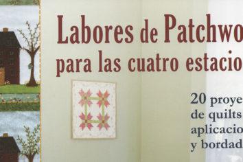 `Labores de patchwork para las cuatro estaciones´, de editorial El Drac