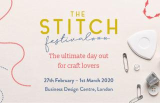 The Stitch Festival, del 27 de febrero al 1 de marzo en Londres