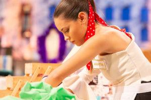Entrevista a Arantxa, tercera expulsada de Maestros de la Costura 3