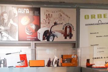 Máquinas de coser ALFA en el Museo de la Industria Armera de Eibar