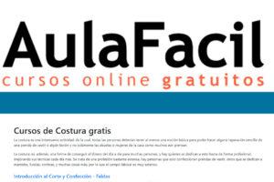 Cursos gratis de costura en Aula Fácil