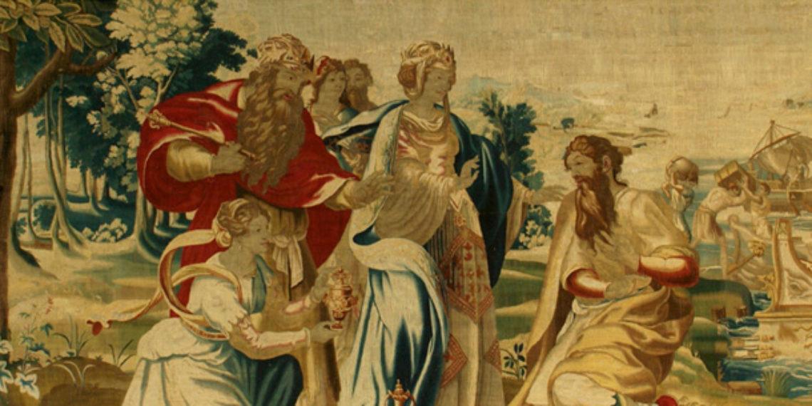 Encuentra el cuento misterioso de este tapiz @DIM2020
