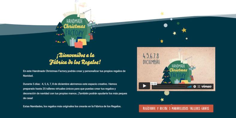 Handmade Christmas Factory, del 4 al 8 de diciembre en formato online