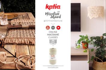 Katia lanza un curso gratuito de macramé en Youtube